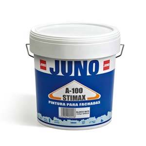 pintura para fachadas stimax a-100 Juno blanco mate