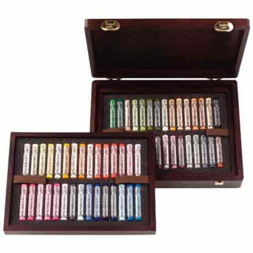 Cajas pastel rembrandt de 60 pasteles blandos de la marca rembrandt con colores especiales para retratos.