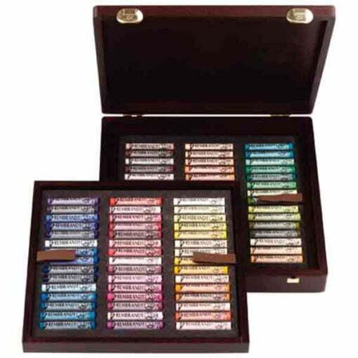 Cajas pastel rembrandt de 90 pasteles blandos de la marca rembrandt con colores especiales para paisajes.