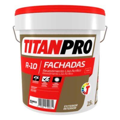revestimiento liso acrilico titan pro r 10