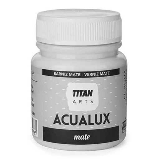 barniz acualux mate titan arts