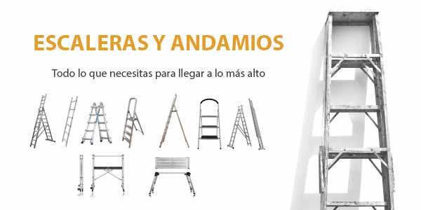 andamios y escaleras de aluminio es lo que necesitas para llegar a lo más alto