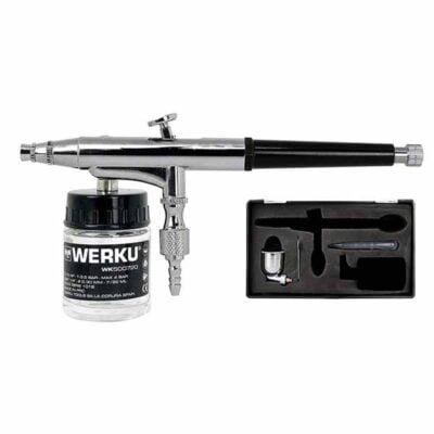 juego-aerografía-succión-gravedad-werku-wk500720