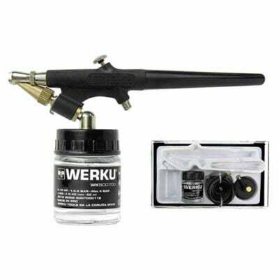 juego-aerografía-succión-werku-wk500700